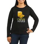Cheese War Women's Long Sleeve Dark T-Shirt