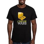 Cheese War Men's Fitted T-Shirt (dark)