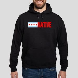 Chicago IL Native Hoodie (dark)
