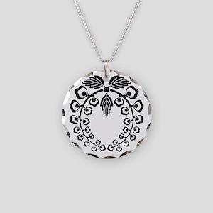 iwafune fuji Necklace Circle Charm