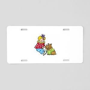 Clown Aluminum License Plate