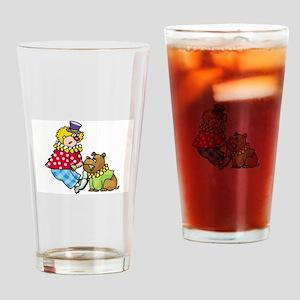 Clown Drinking Glass
