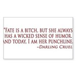 Darling Sticker (Rectangle 50 pk)