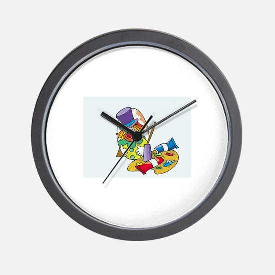 Clown Wall Clock