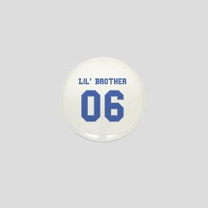 Blue Lil' Brother 06 Mini Button