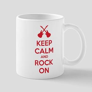 Keep calm and rock on Mug