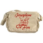 Josephine On Fire Messenger Bag
