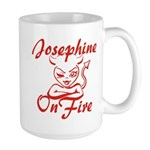 Josephine On Fire Large Mug