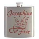 Josephine On Fire Flask