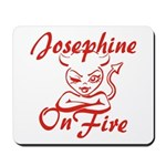 Josephine On Fire Mousepad