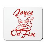 Joyce On Fire Mousepad