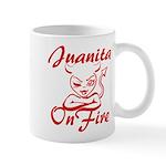 Juanita On Fire Mug