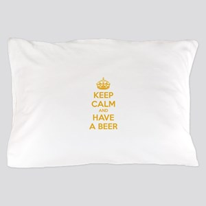 Keep calm and have a beer Pillow Case