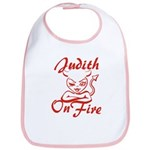 Judith On Fire Bib