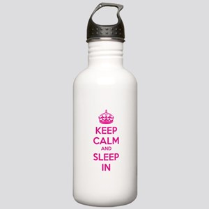 Keep calm and sleep in Stainless Water Bottle 1.0L
