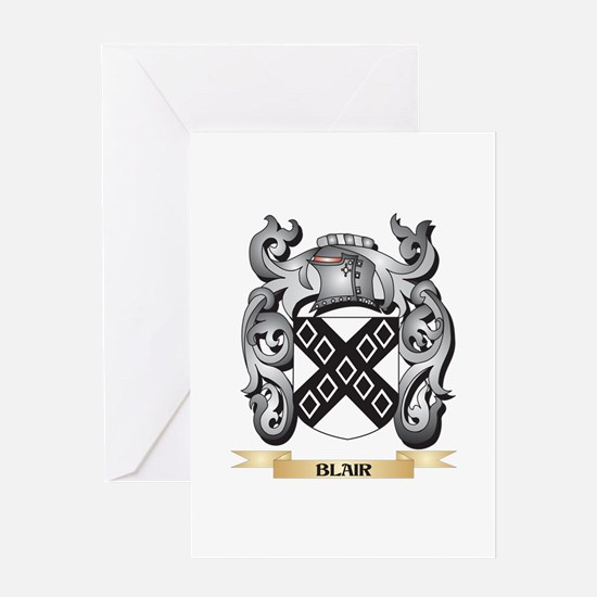Blair Family Crest - Blair Coat of Greeting Cards