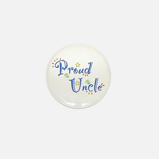 Proud Uncle Mini Button