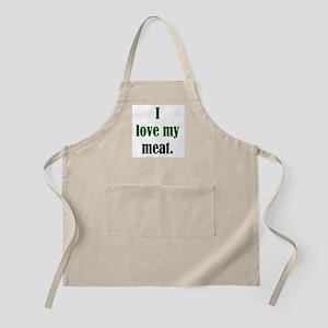 Love Meat BBQ Apron