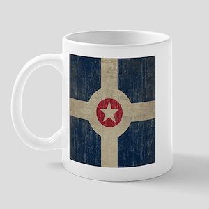 Vintage Indianapolis Flag Mug