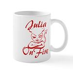 Julia On Fire Mug