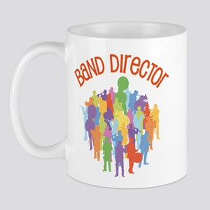 Band Director Collage Mug