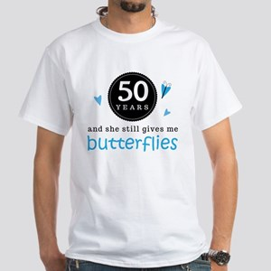 50 Year Anniversary Butterfly T-Shirt