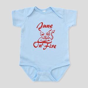 June On Fire Infant Bodysuit