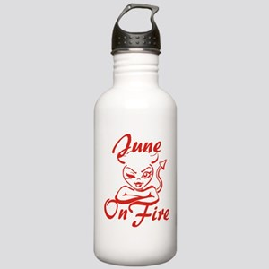 June On Fire Stainless Water Bottle 1.0L