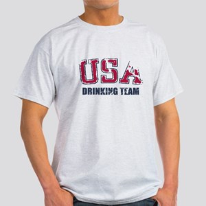 USA Drinking Team Light T-Shirt