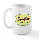 So Cal Surf Club 1 Large Mug
