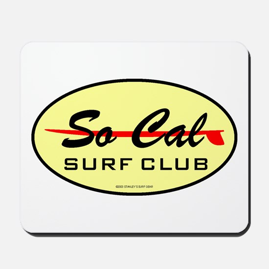 So Cal Surf Club 1 Mousepad