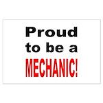 Proud Mechanic Large Poster