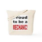 Proud Mechanic Tote Bag