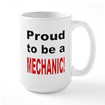 Proud Mechanic Large Mug
