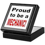 Proud Mechanic Keepsake Box