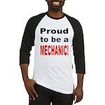 Proud Mechanic Baseball Jersey
