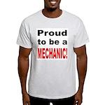Proud Mechanic Ash Grey T-Shirt