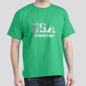 USA Drinking Team Dark T-Shirt