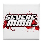 Severe Mma Logo Tile Coaster