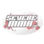 Severe Mma Sticker (oval 10 Pk)