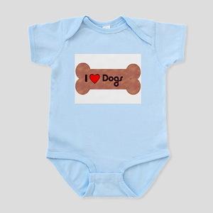 I LOVE DOGS Infant Creeper