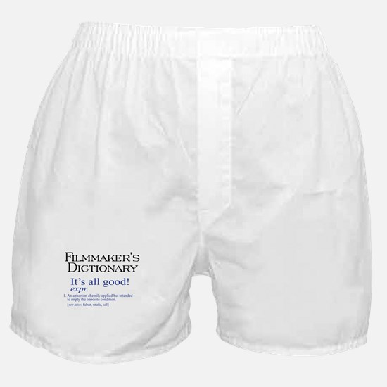 Film Dictionary: All Good! Boxer Shorts