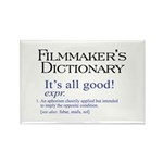 Film Dictionary: All Good! Rectangle Magnet (10 pa