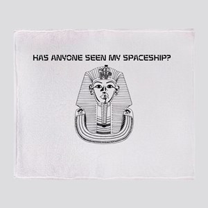 HAS ANYONNE SEEN MY SPACESHIP? Throw Blanket