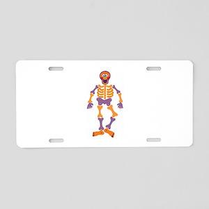 Skeleton Aluminum License Plate