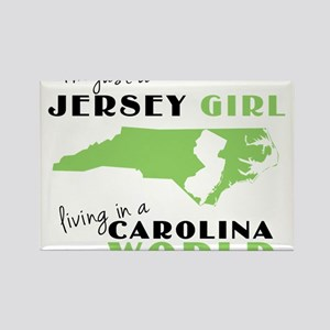 JERSEY GIRL IN NC Magnets
