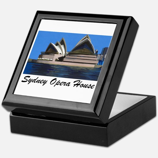 Opera House Painting Keepsake Box