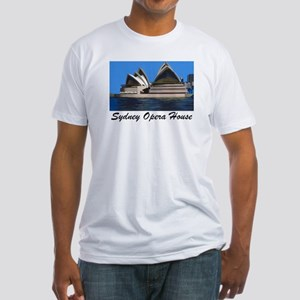 Opera House Painting Fitted T-Shirt