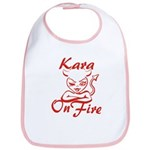 Kara On Fire Bib