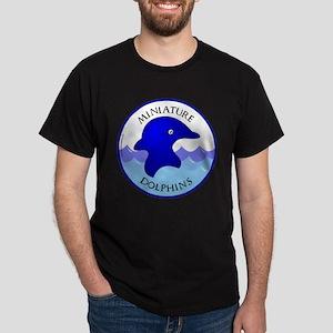 Miniature Dolphins Black T-Shirt
